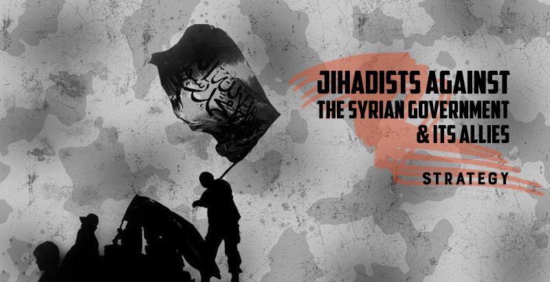 Militärische Haltung der Terroristen in Syrien