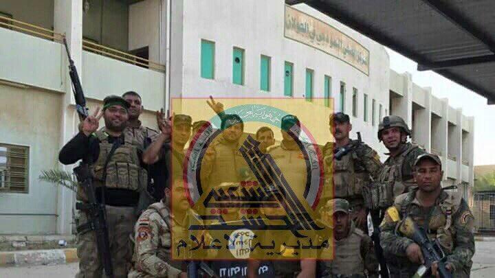 Irakische Streitkräfte befreien Falludscha (4)