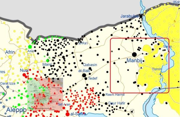 SDF YPG bauen Brückenkopf am Tishreen-Damm westlich des Euphrat aus
