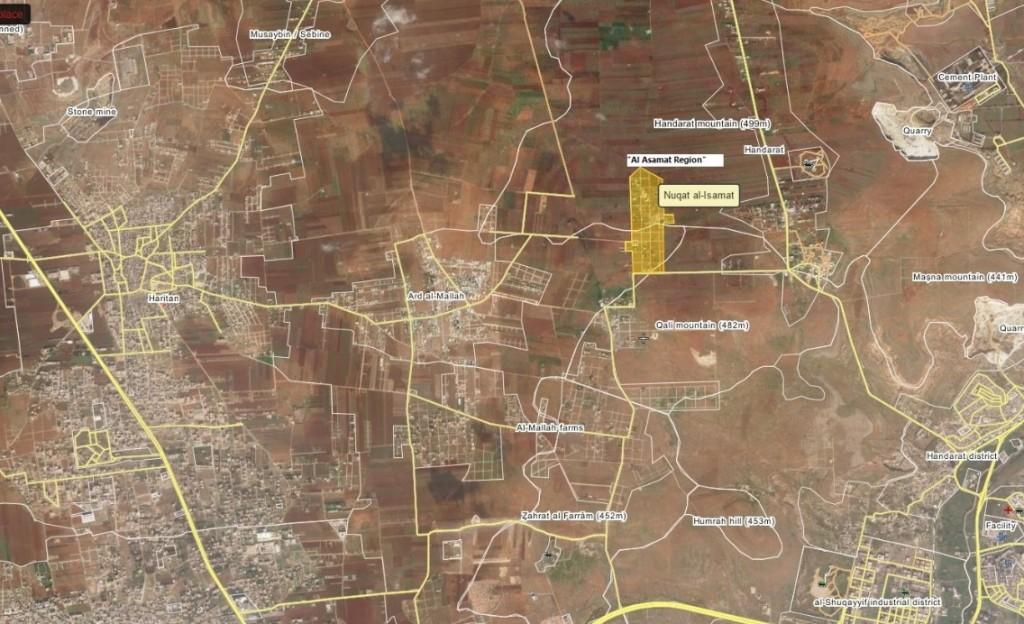 Syrische Armee macht bei Gegenoffensive nördlich von Aleppo Fortschritte (1)