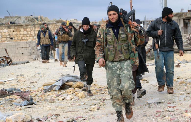 Syrische Armee zieht sich aus Al-Malaah Farms im Norden von Aleppo zurück nusra