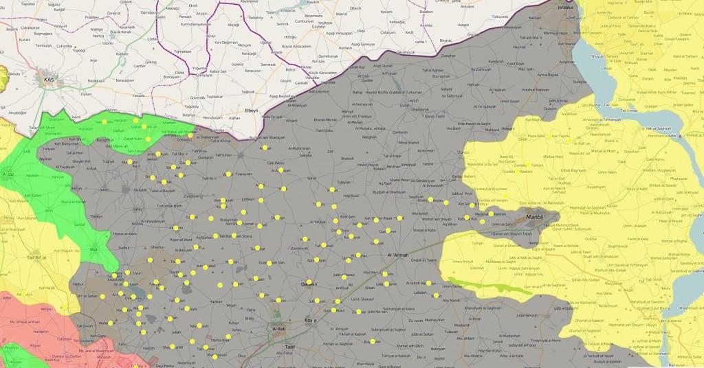 YPG bringen Arima unter ihre Kontrolle