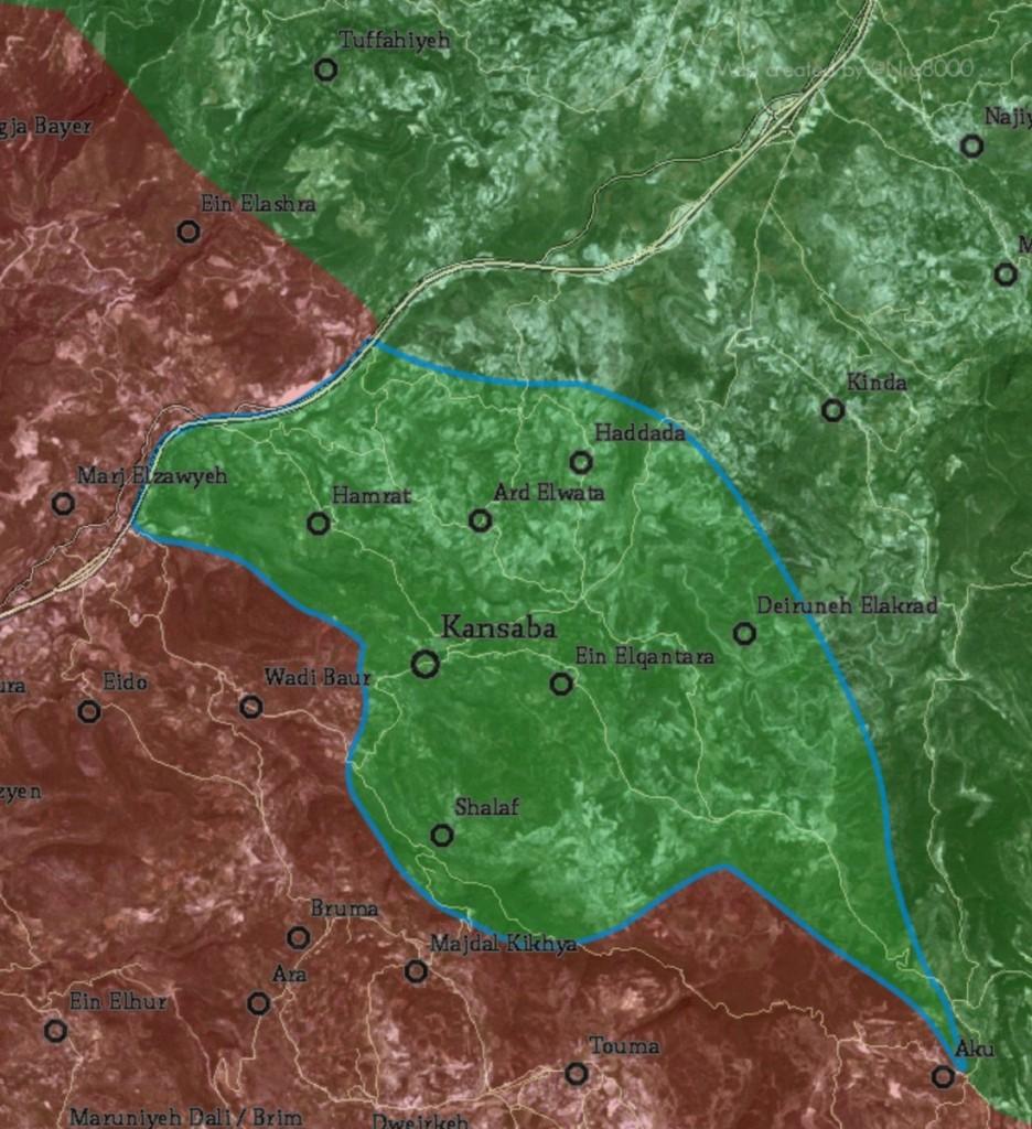 Al-Nusra-Front & Verbündete erobern Kinsabba & erarbeiten sich Gerändegewinne im Gouvernement Latakia