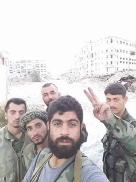 Bevölkerung von Aleppo feiert Befreiung vom Terror 1