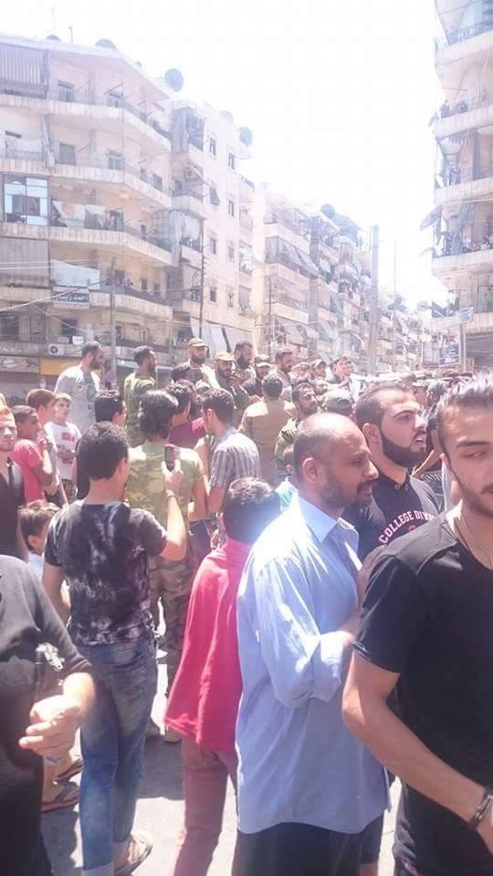 Bevölkerung von Aleppo feiert Befreiung vom Terror 10