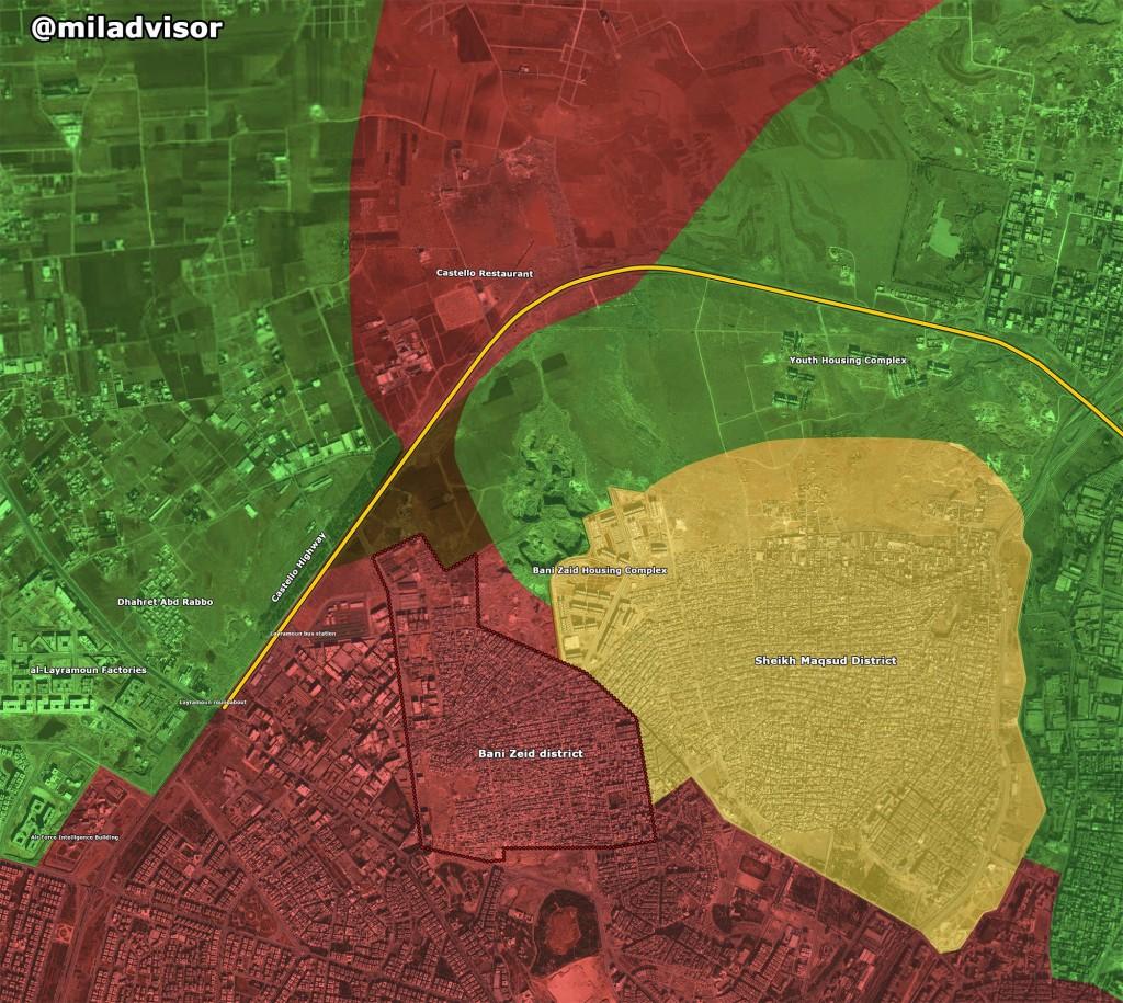 Bevölkerung von Aleppo feiert Befreiung vom Terror 12