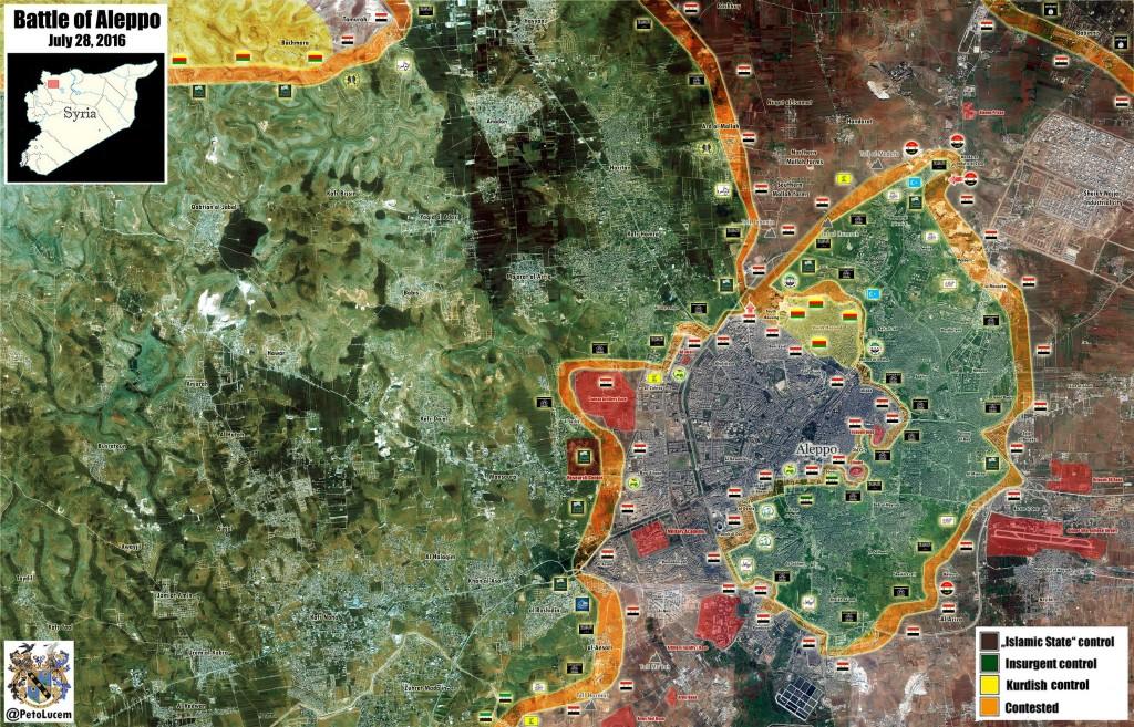 Bevölkerung von Aleppo feiert Befreiung vom Terror 13