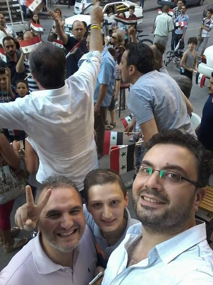 Bevölkerung von Aleppo feiert Befreiung vom Terror 14