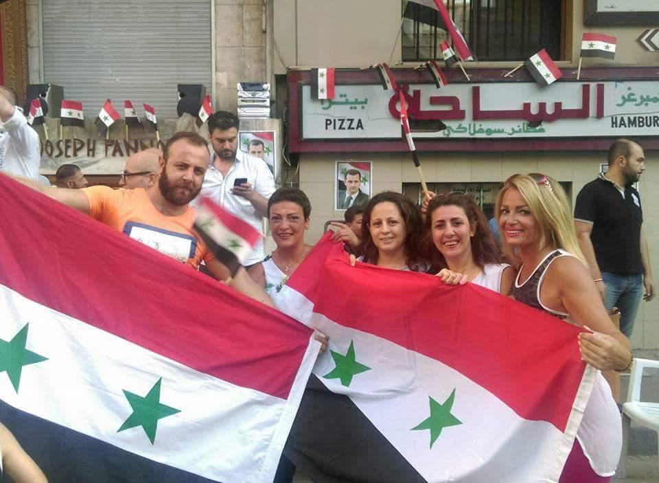 Bevölkerung von Aleppo feiert Befreiung vom Terror 15