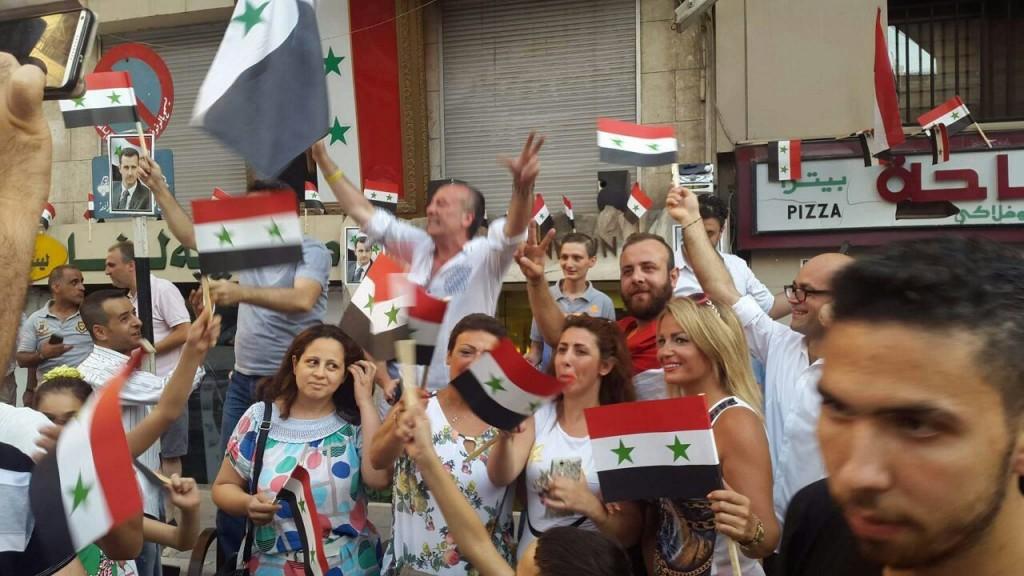 Bevölkerung von Aleppo feiert Befreiung vom Terror 16