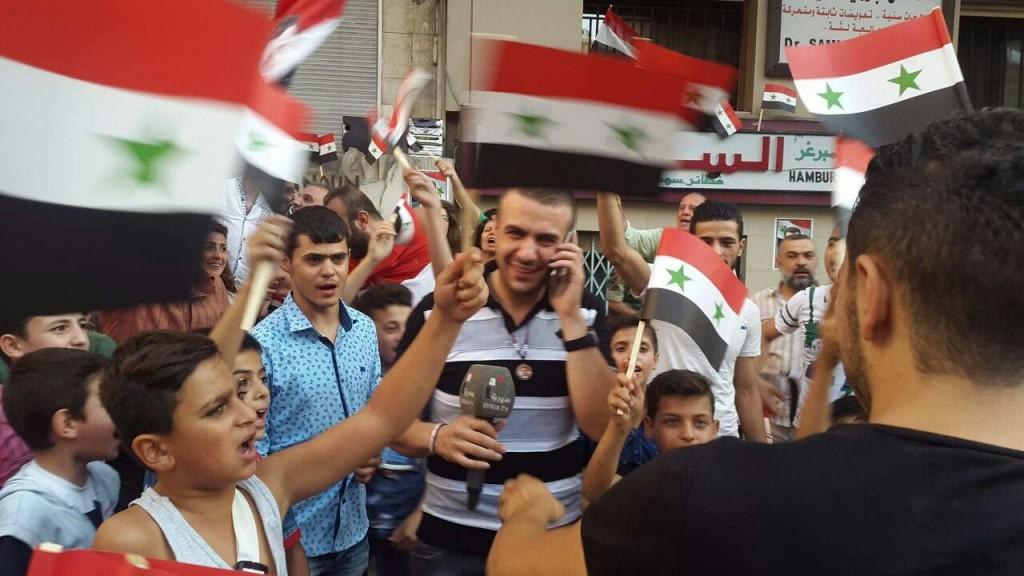 Bevölkerung von Aleppo feiert Befreiung vom Terror 17