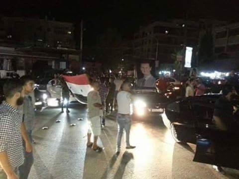 Bevölkerung von Aleppo feiert Befreiung vom Terror 19