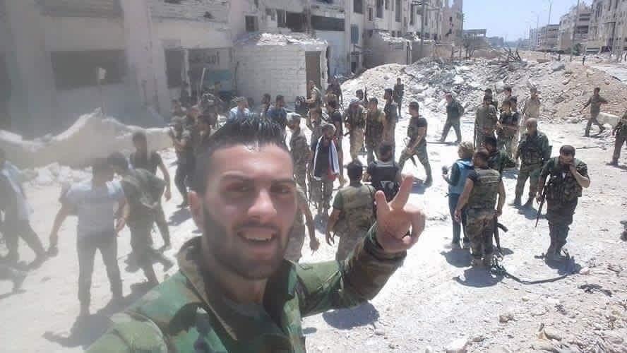 Bevölkerung von Aleppo feiert Befreiung vom Terror 2