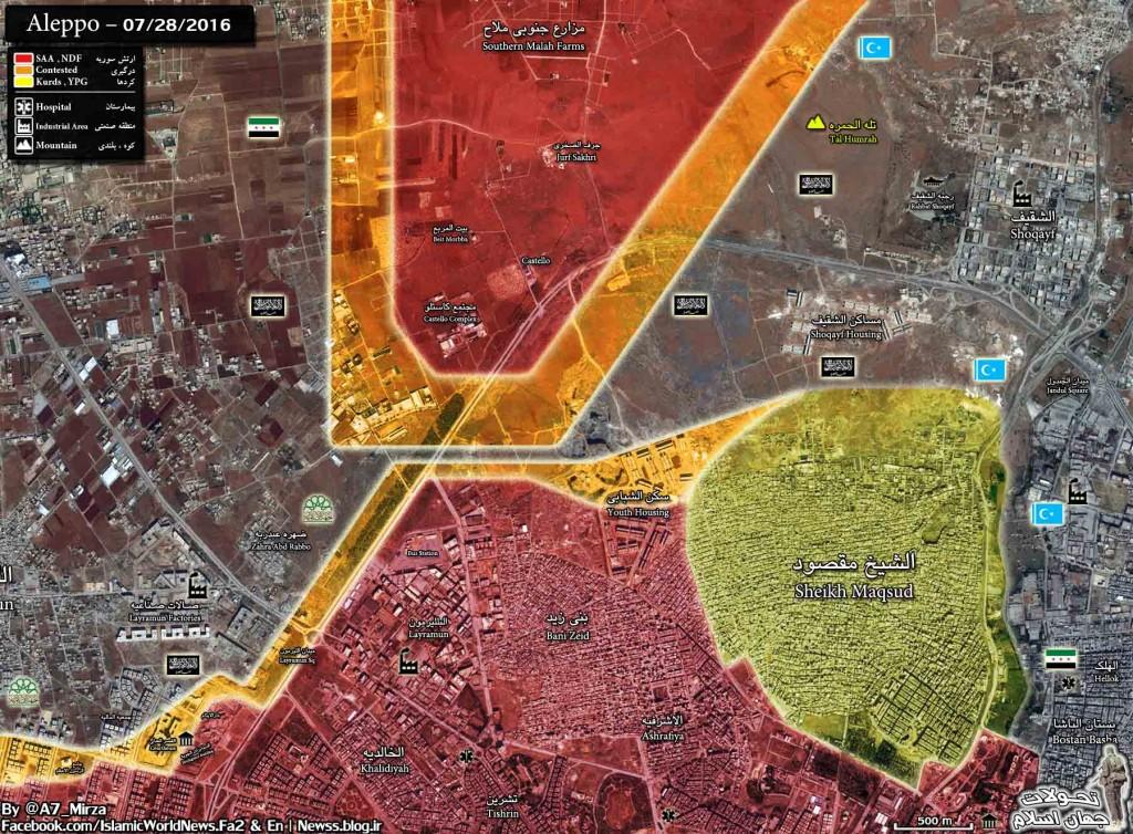 Bevölkerung von Aleppo feiert Befreiung vom Terror 5