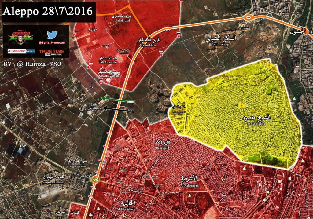 Bevölkerung von Aleppo feiert Befreiung vom Terror 6