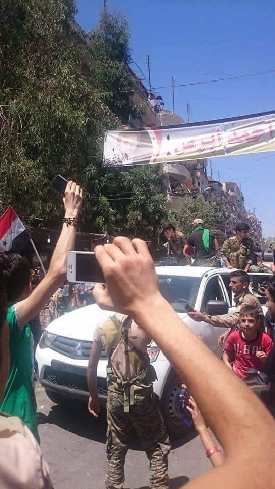 Bevölkerung von Aleppo feiert Befreiung vom Terror 8