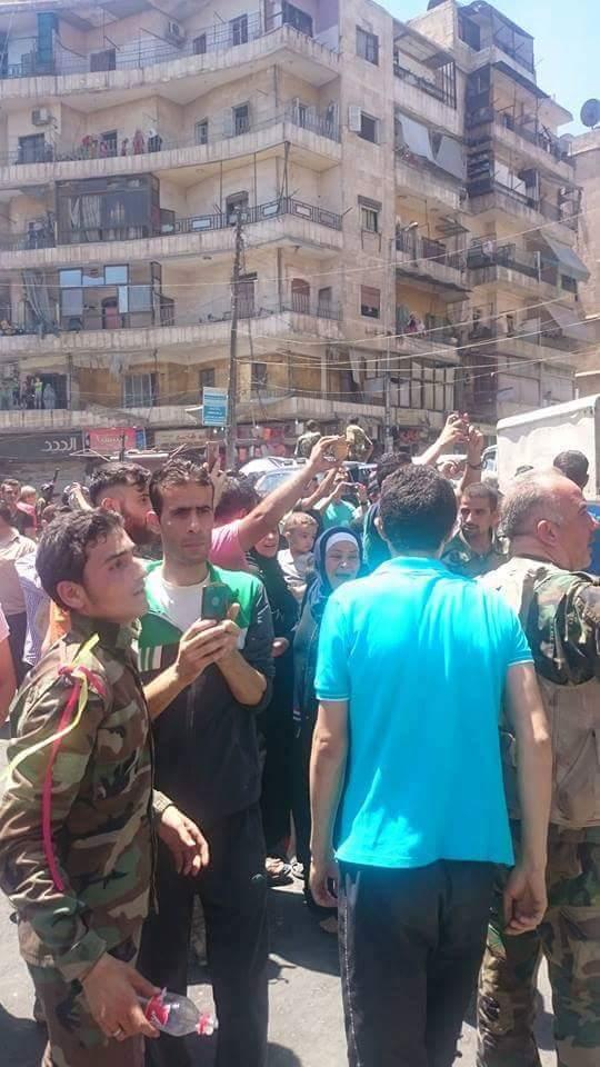 Bevölkerung von Aleppo feiert Befreiung vom Terror 9