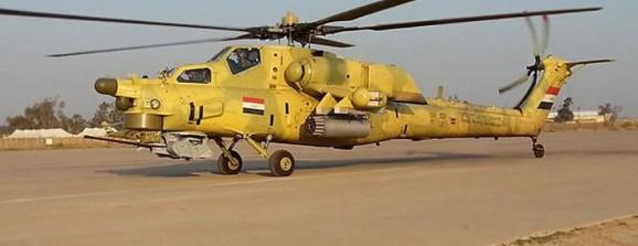 Mil Mi-28NE Irak 2016