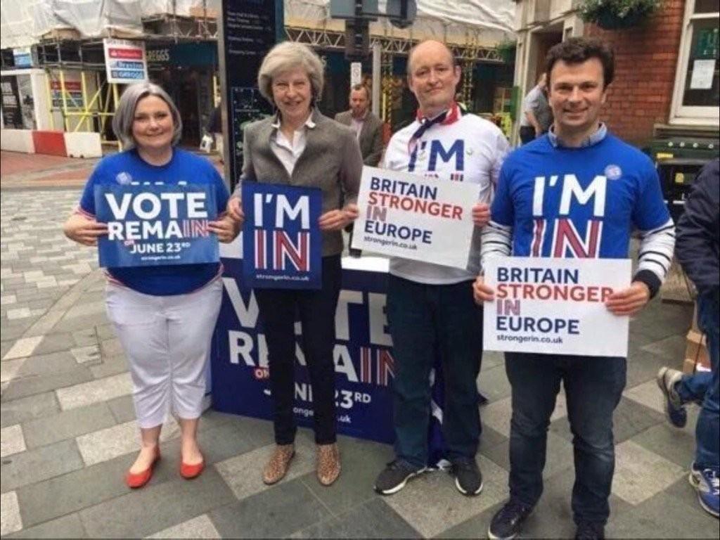 Theresa May wird neue britische Regierungschefin