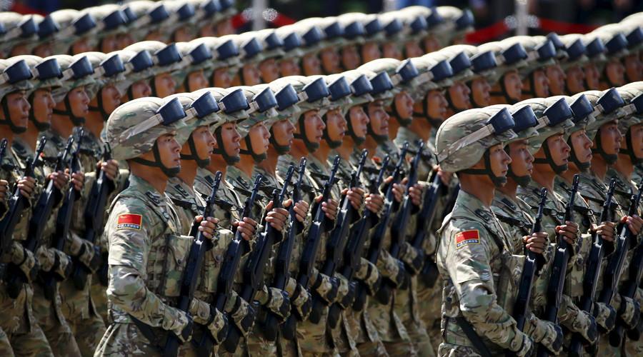Soldaten der chinesischen Volksbefreiungsarmee © Damir Sagolj / Reuters