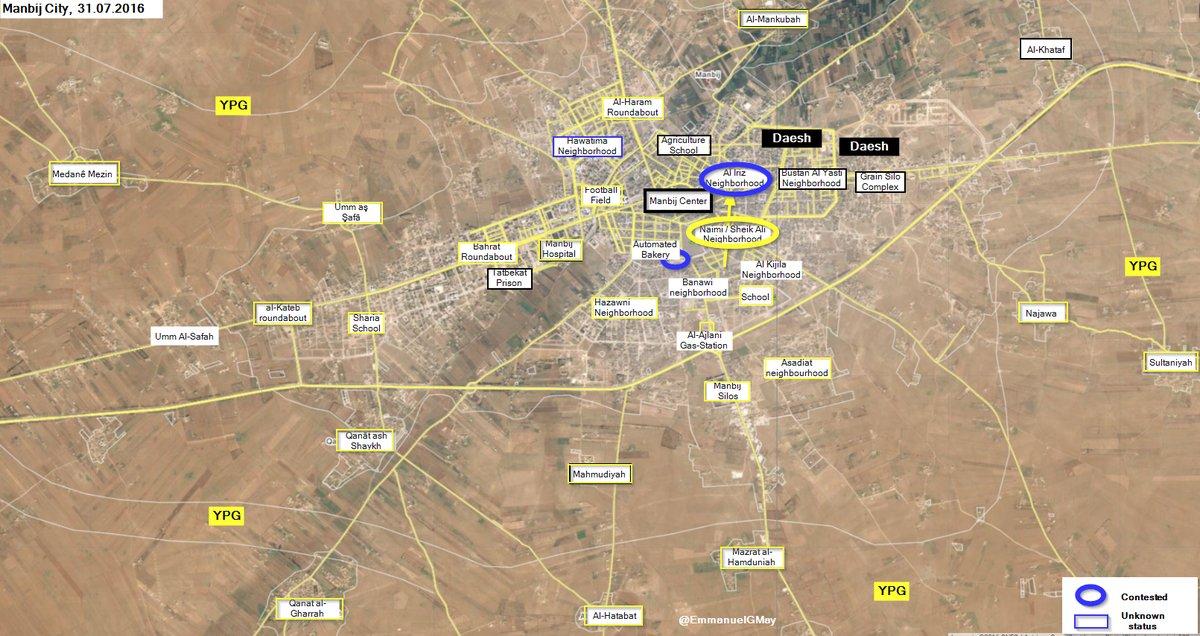 Demokratische Krafte Syriens Erlangen Kontrolle Uber Naimi