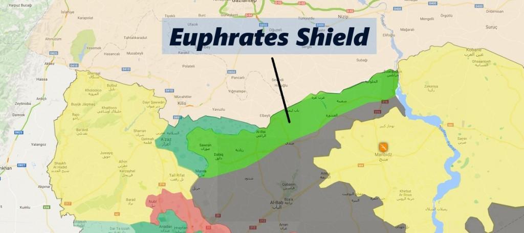Die Turkische Intervention In Syrien Analyse Karten