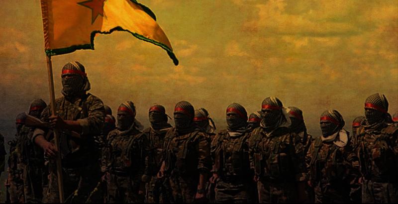 Kurdische Kräfte teilen IS kontrollierte Gebiete in Manbidsch in drei Teile
