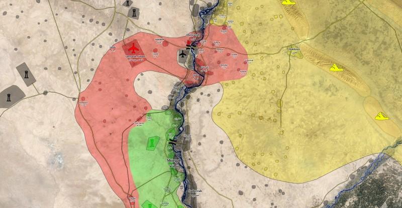 Klicken Sie auf die Karte um diese in voller Größe zu sehen - Karte: @A7_Mirza