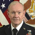 Armee General Martin Dempsey, ehemaliger Vorsitzender der Joint Chiefs of Staff.