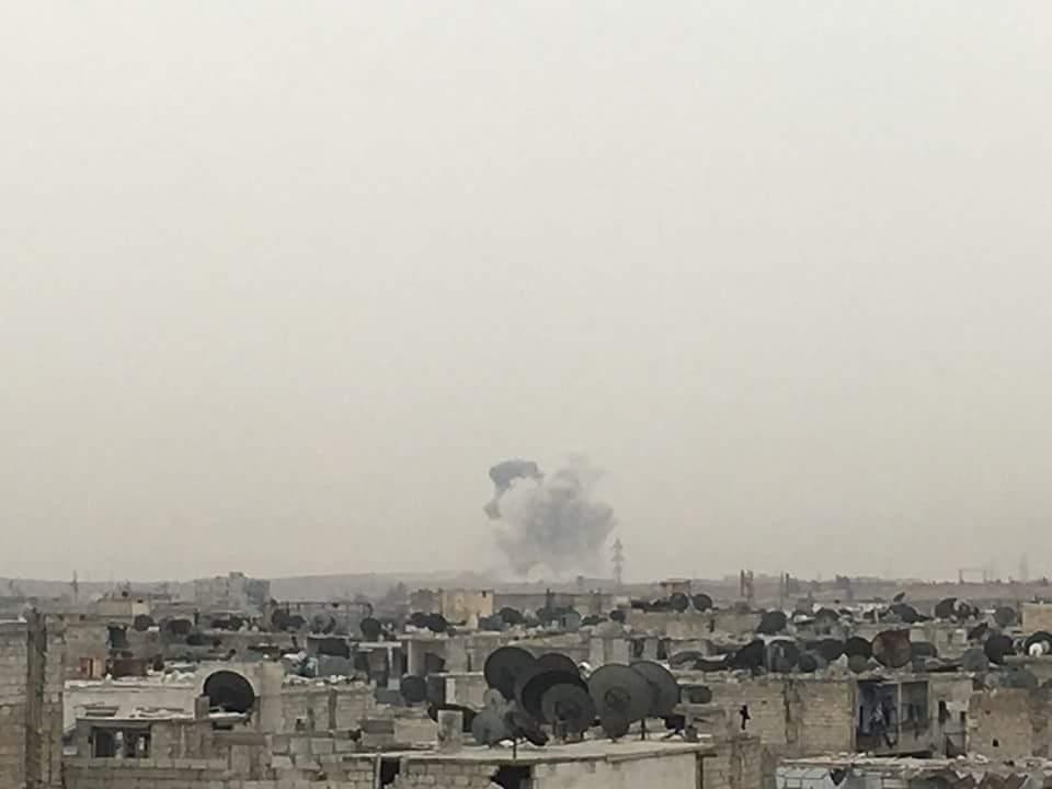 Foto der Explosion