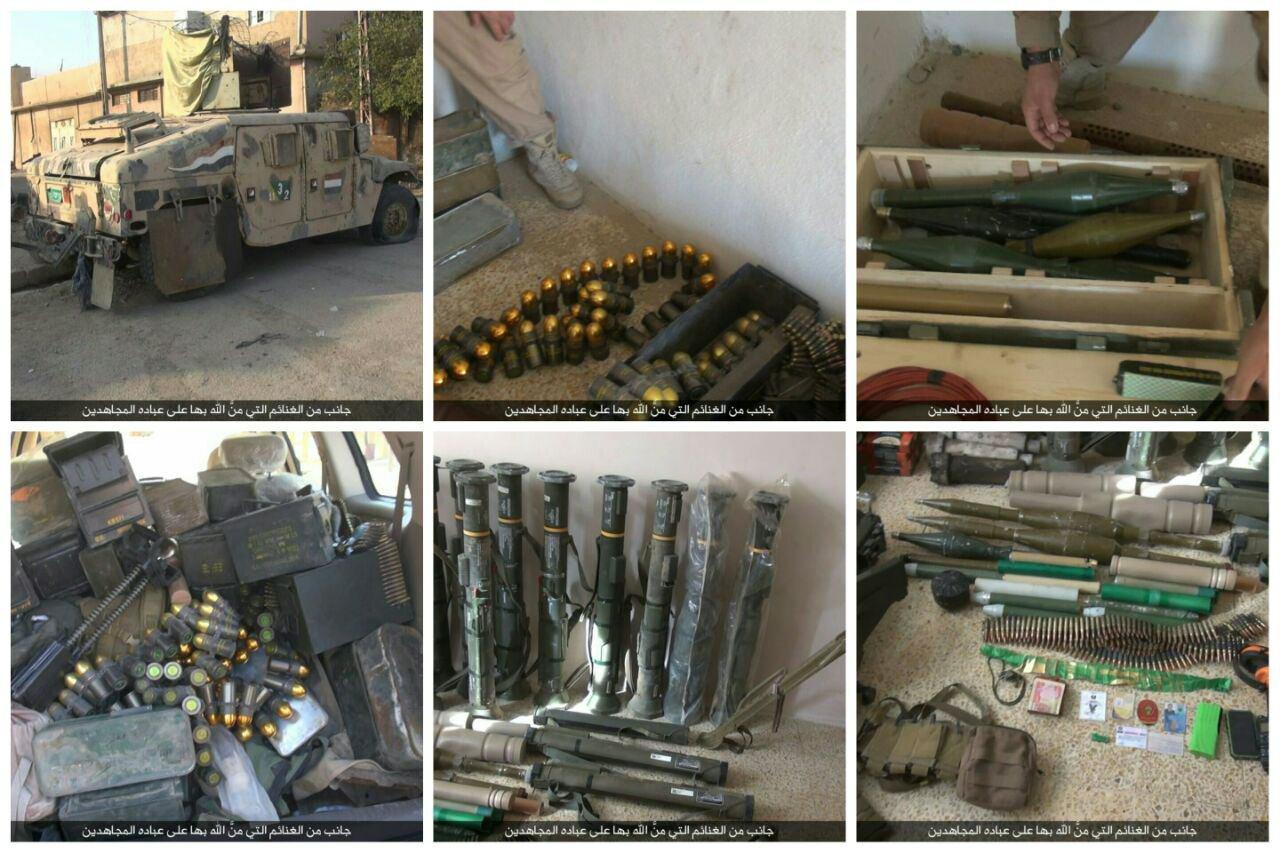 zerstorte-ausrustung-der-irakischen-streitkrafte-in-den-ausenbezirken-von-mossul-4