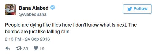 """""""Hier sterben die Menschen wie die Fliegen Ich weiß nicht was als nächstes kommt. Die Bomben fallen wie Regen"""""""