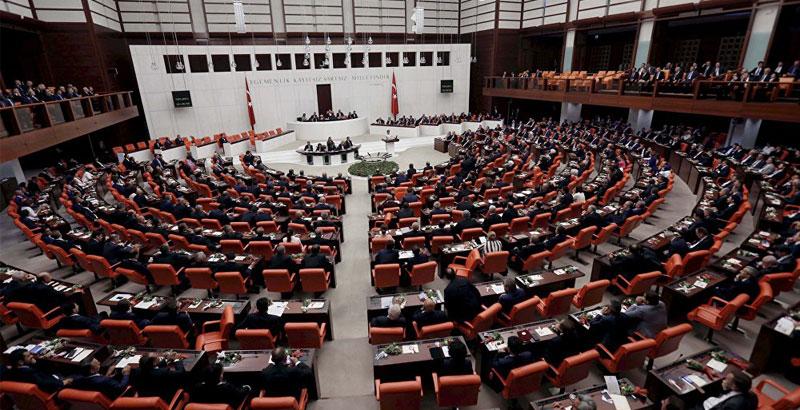 Das türkische Parlament (Foto: Reuters)
