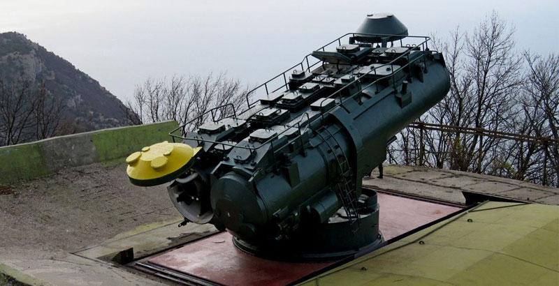 Das Küstenschutzsystem Utjos (Foto: Rossiyskaya Gazeta / Vladimir Pasyakin)