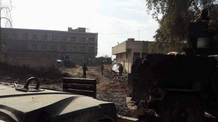 Die ISF auf dem Universitätsgelände von Mossul - 13.01.2017 1