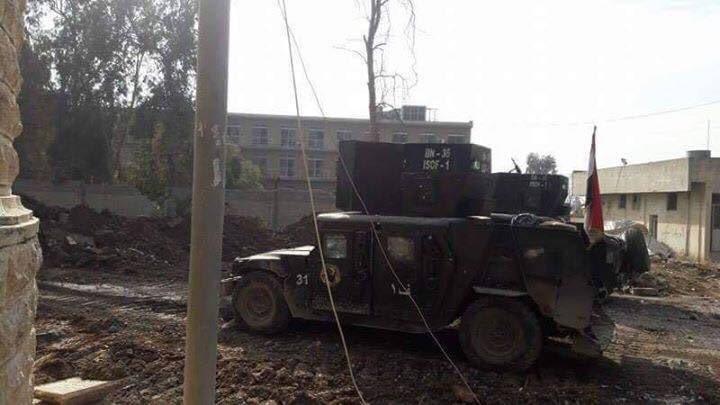 Die ISF auf dem Universitätsgelände von Mossul - 13.01.2017 2