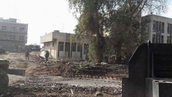 Die ISF auf dem Universitätsgelände von Mossul - 13.01.2017 3