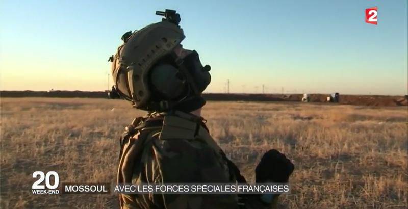 Französische Spezialeinheiten bei der Mossul-Operation 11
