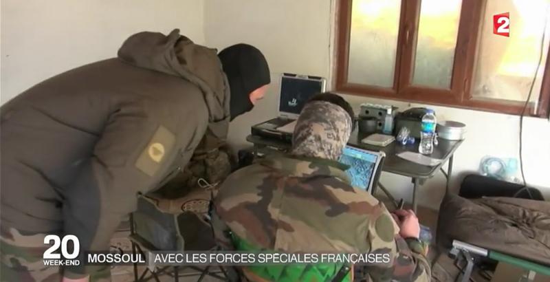 Französische Spezialeinheiten bei der Mossul-Operation 12