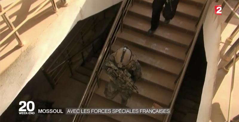 Französische Spezialeinheiten bei der Mossul-Operation 13