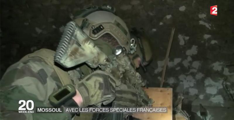 Französische Spezialeinheiten bei der Mossul-Operation 2