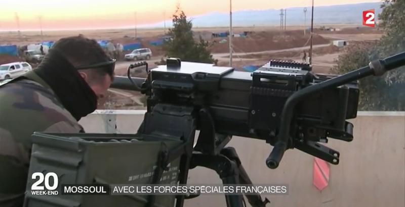 Französische Spezialeinheiten bei der Mossul-Operation 4