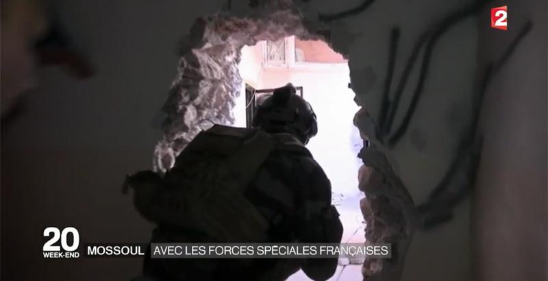 Französische Spezialeinheiten bei der Mossul-Operation 5