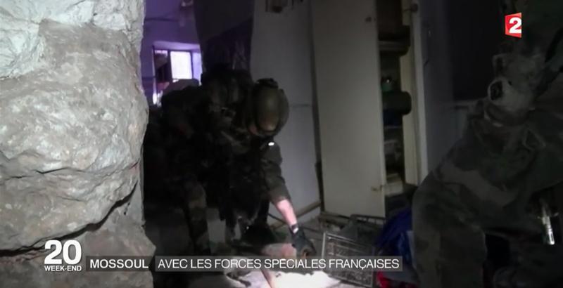 Französische Spezialeinheiten bei der Mossul-Operation 6