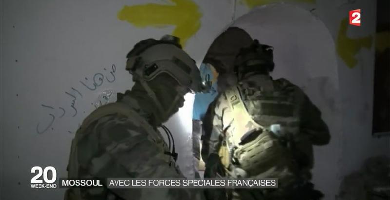 Französische Spezialeinheiten bei der Mossul-Operation 7