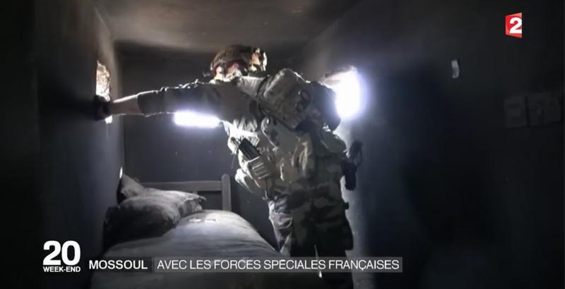 Französische Spezialeinheiten bei der Mossul-Operation 8