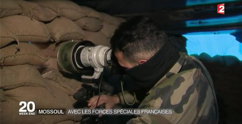 Französische Spezialeinheiten bei der Mossul-Operation 9