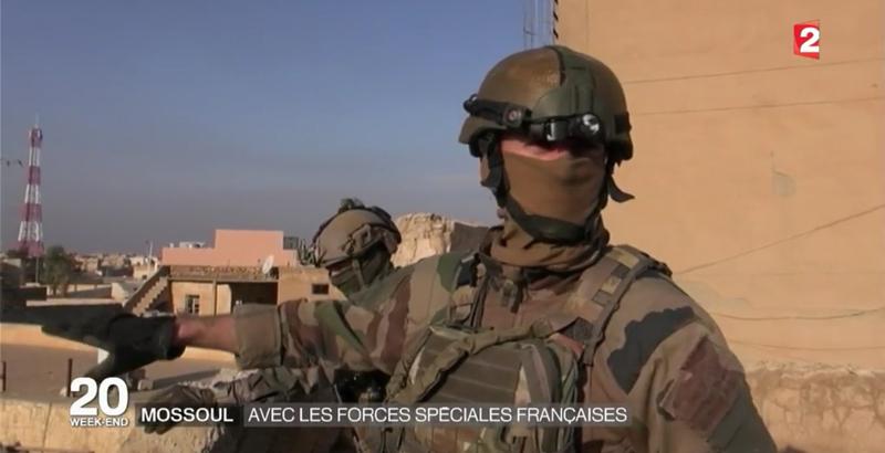 Französische Spezialeinheiten bei der Mossul-Operation