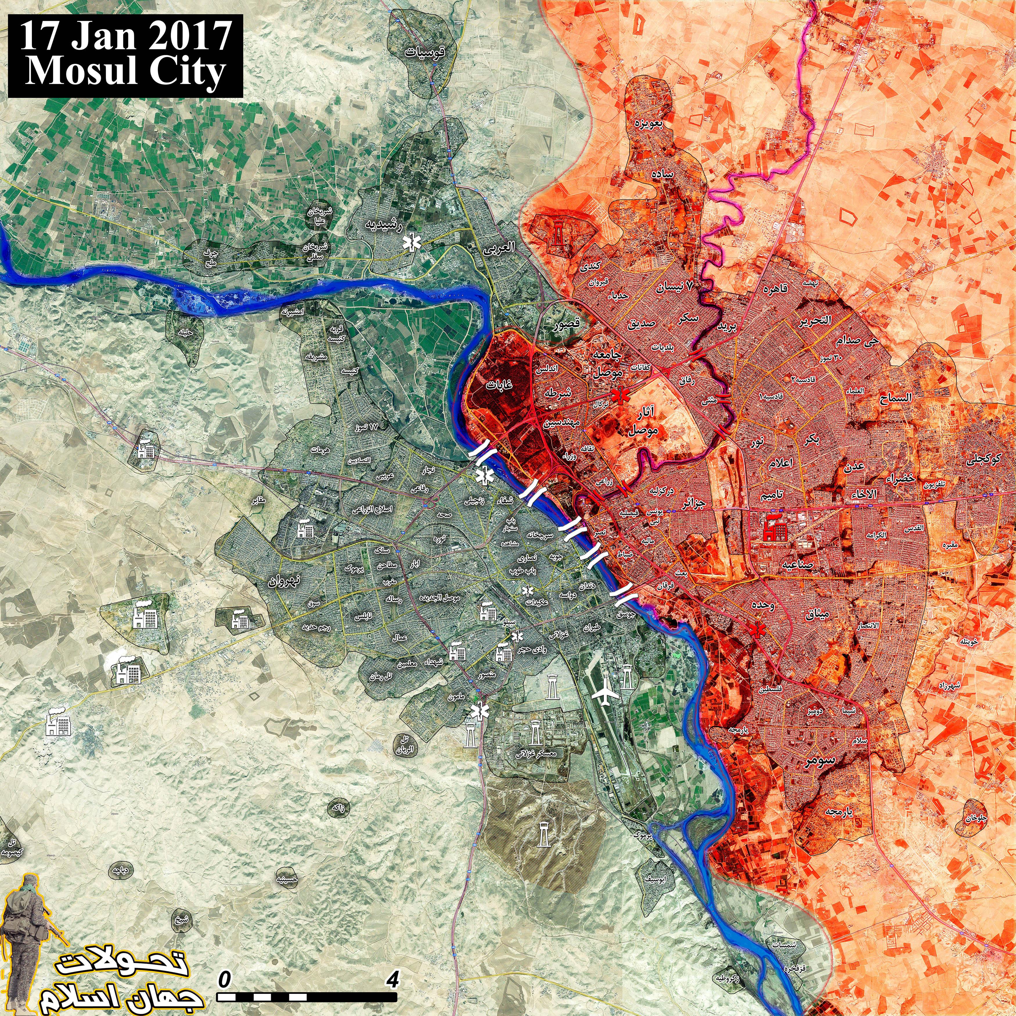 Klicken Sie auf die Karte um diese in voller Größe zu sehen - Karte: @A7_Mirza / Twitter