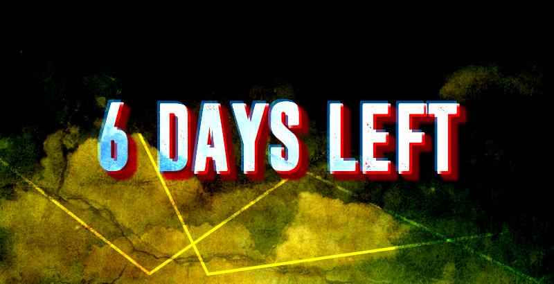 Sechs Tage verbleiben bis Ende Januar